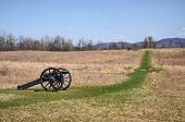 stock photo of battlefield  - View from the Battle of Saratoga battlefield near Saratoga Springs - JPG