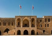 Emir Bachir Chahabi Palace Beit ed-Dine in mount Lebanon Middle east poster