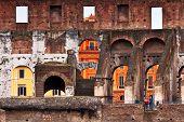 Across The Street, Roman Coliseum