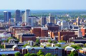 pic of alabama  - Skyline of downtown Birmingham - JPG