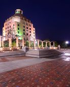 picture of asheville  - City Hall at Pack Square Park - JPG