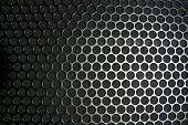 schwarz Grill Textur