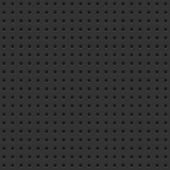 stock photo of pegboard  - A seamless background tile with perforations on a dark board - JPG