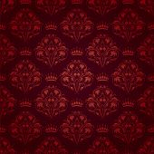 Damaris seamless floral pattern