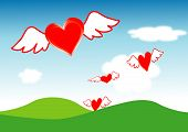 Mosca de corazones