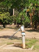 Old Rusty Groundwater Pump