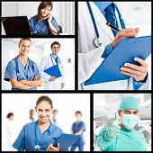 Composition of medical workers