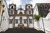 Iglesia colonial en Salvador da Bahia, Brasil