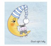 Welcome Baby Greetings Card