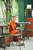 Lama At Do Drul Chorten Monestry In Gungtok, Sikkim