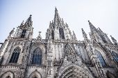 picture of apostolic  - Barcelona Cathedral in Catalonia  - JPG