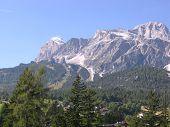Cortina en el norte de Italia