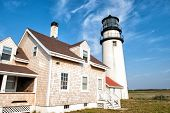 Historic Lighthouse at cape Cod