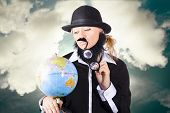 Travelling Tourist Planning Global World Tour