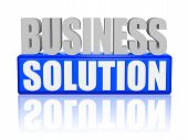 image of enterprise  - business solution text  - JPG
