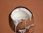 Coconut Filled With Coco Milk