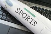 Sports Section On Laptop