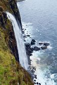 foto of kilts  - Kilt Rock waterfall - JPG