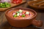 Spanish Cold Soup Called Gazpacho