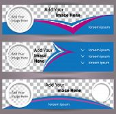 foto of placeholder  - Set of web banners - JPG