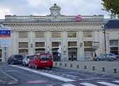 Central railroad station in Avignon, France