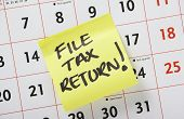 File Tax Return!