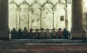 Back In 1997. The Omayyad Mosque, People Praying