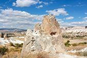 stock photo of goreme  - Cappadocia landscape near Goreme - JPG