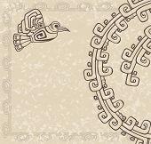 Aztec style backgroun