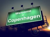 stock photo of copenhagen  - Welcome to Copenhagen  - JPG