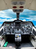 Cockpit Plane.