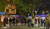 South Bank Christmas Market In London