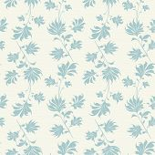 Seamless Vintage Wallpaper Pattern.