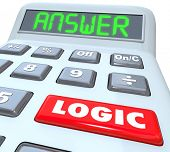 Logic Word Calculator Answer Equation Solution