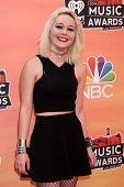 LOS ANGELES - MAY 1:  Bea Miller at the 1st iHeartRadio Music Awards at Shrine Auditorium on May 1,