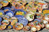 Portuguese decorated dishes