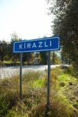 Road Sign Kirazli