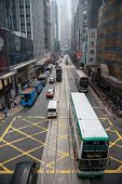 HONG KONG - NOVEMBER 14, 2012: Central is the central business district Hong Kong, it is located on
