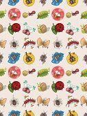 Seamless Bug Pattern