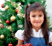 Girl In Christmas