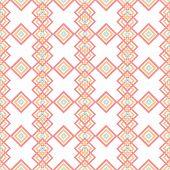 Geometric Abstract Rhombs Seamless Pattern On White