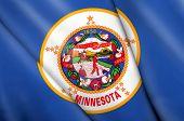 Flag Of Minnesota (usa)