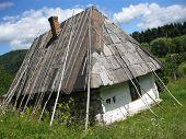Old Rural House In Carpathian Region