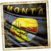 Flag Of Montana (usa)