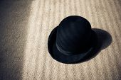 Bowler Hat On Floor
