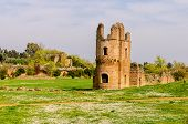 Ruins Of The Circus Of Maxentius