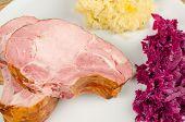 Kasseler And Side Dish Ingredients