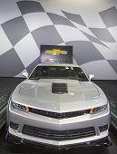 Chevrolet Camaro Z28 on display in New York