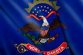 Flag Of North Dakota (usa)