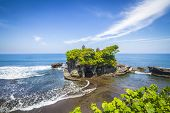 The Tanah Lot Temple.Bali Island. Indonesia.